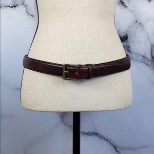 BELT TRAFALGAR brown leather